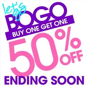 Everything in my closet  Buy one Get one 50 % Off